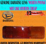 For Genuine Daihatsu Fourtrak Rocky 2.8 F70/73/75/77/78/80/85 84Rear Bumper Lamp Lens Light